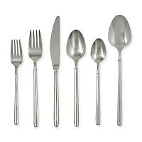 Ginkgo Svelte 42-pc. Flatware Set