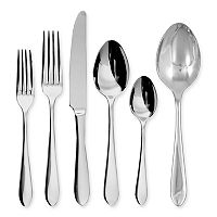 Ginkgo Linden 42-pc. Flatware Set