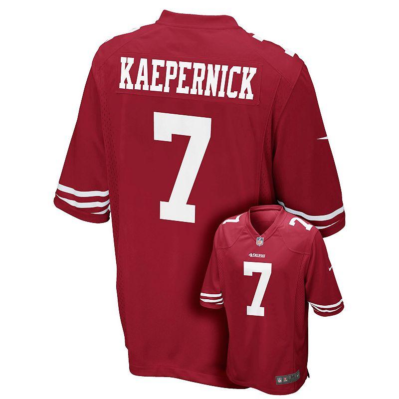 Boys 8-20 Nike San Francisco 49ers Colin Kaepernick Jersey