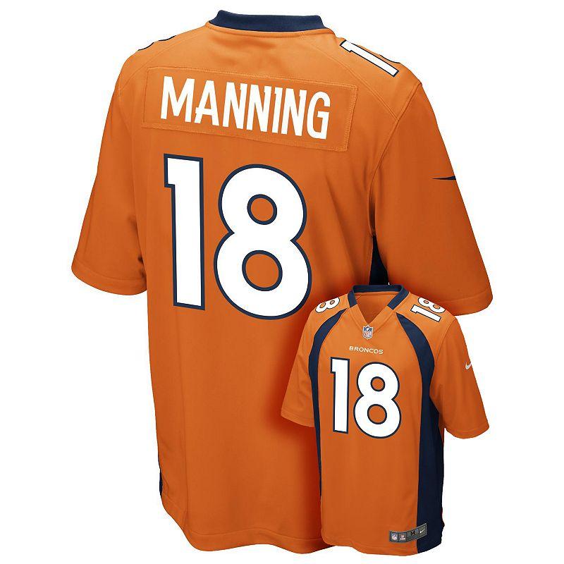 Boys 8-20 Nike Denver Broncos Peyton Manning NFL Jersey
