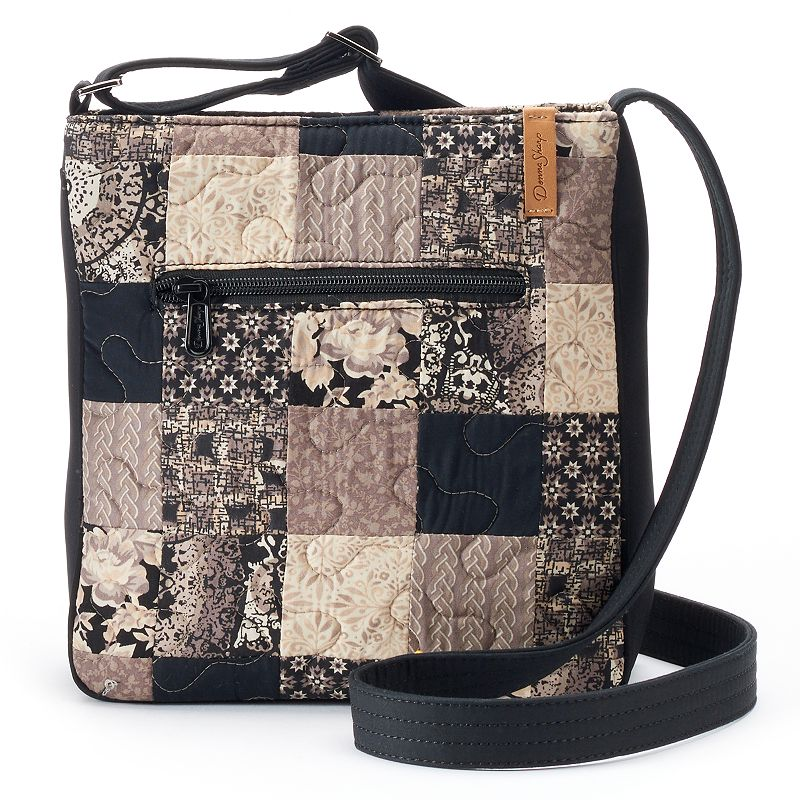 Donna Sharp Hipster Montreal Quilted Patchwork Crossbody Bag