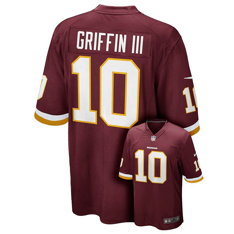 Boys 8-20 Nike Washington Redskins Robert Griffin III Jersey
