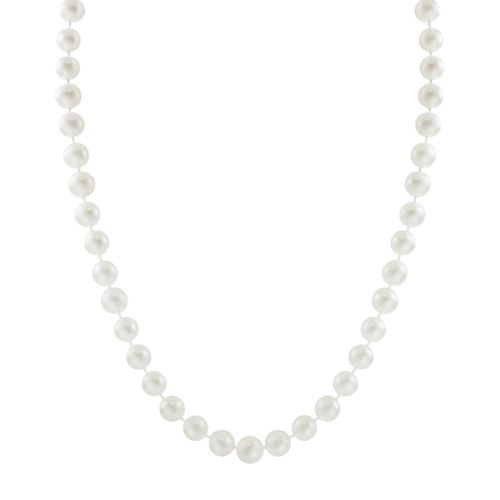 10k Gold Freshwater Cultured Pearl Necklace - 16''