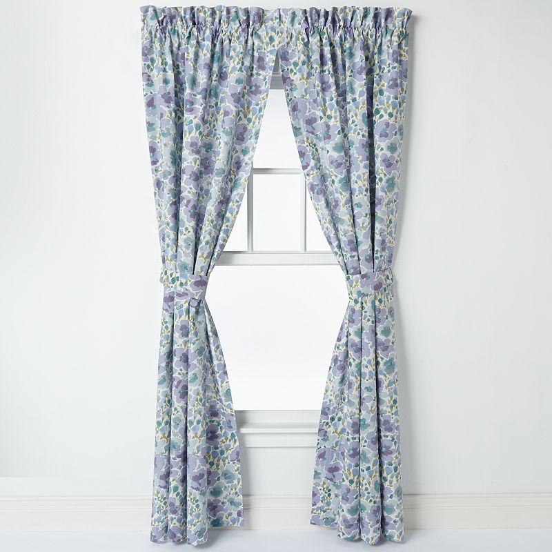 Laura Ashley Lifestyles Arietta Window Panel Pair - 41'' x 84''