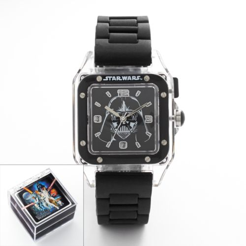 Star Wars Darth Vader Watch - Kids' Light Up Rubber