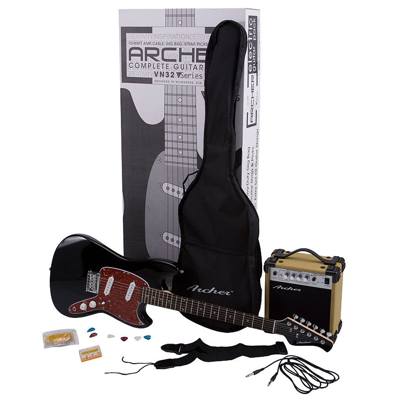 Archer Electric Guitar and Amplifier Pack