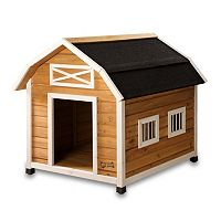 Pet Squeak The Barn Dog House - Medium