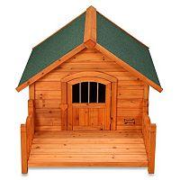 Pet Squeak Porch Pups Dog House - Large