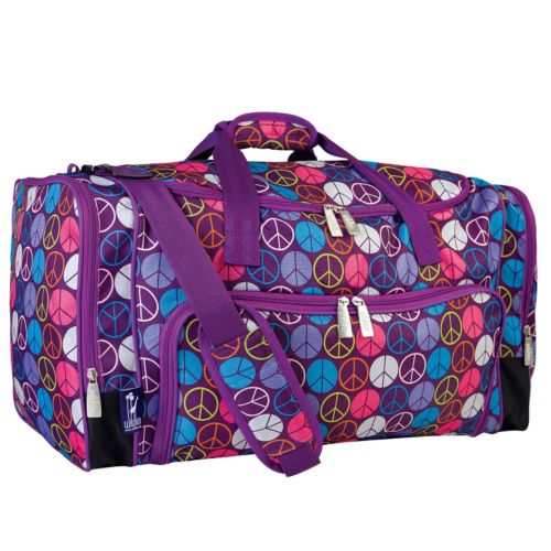 Wildkin Peace Sign Weekender Duffel Bag - Kids