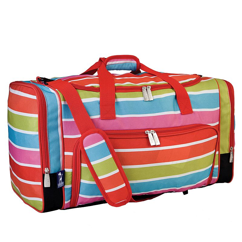 Wildkin Bright Stripes Weekender Duffel Bag - Kids