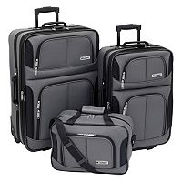 Leisure Trio 3-pc. Luggage Set (Charcoal)