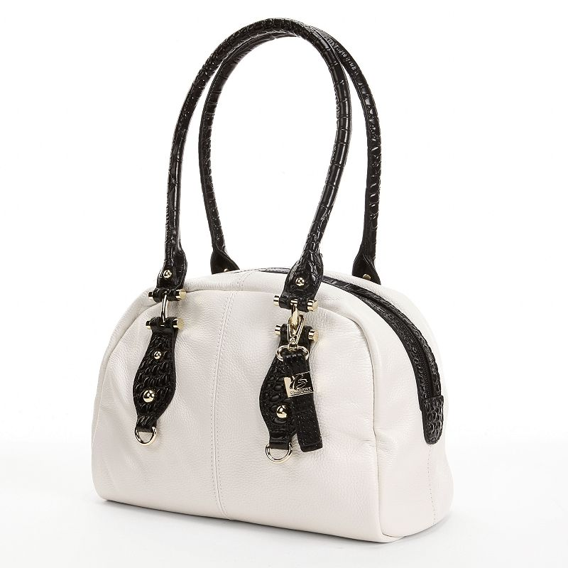 B-Collective by Buxton Bianca Leather Satchel