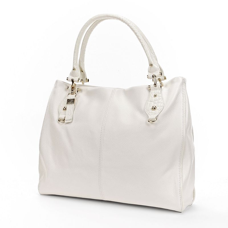 B-Collective by Buxton Bianca Leather Tote