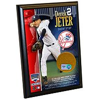 Steiner Sports Derek Jeter New York Yankees 4'' x 6'' Plaque with Game-Day Dirt