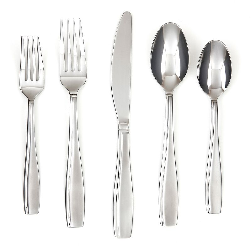 Farberware Allspice Sand 45-pc. Flatware Set