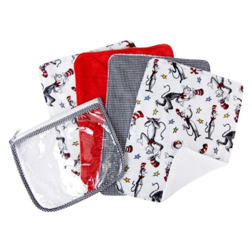 Dr. Seuss The Cat In The Hat 4-pk. Burp Cloths by Trend Lab