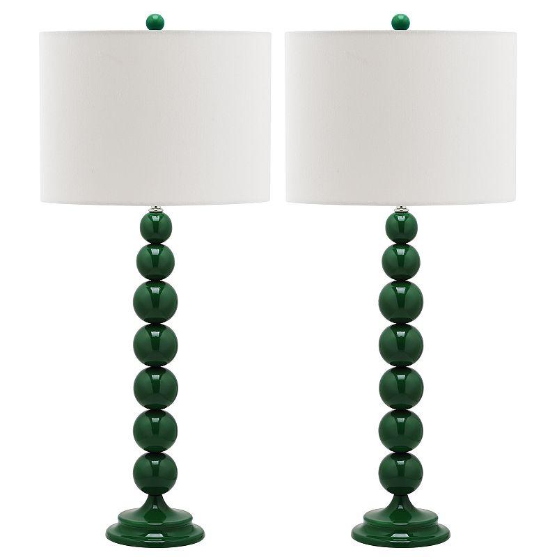 Safavieh 2-pc. Jenna Stacked Ball Table Lamp Set