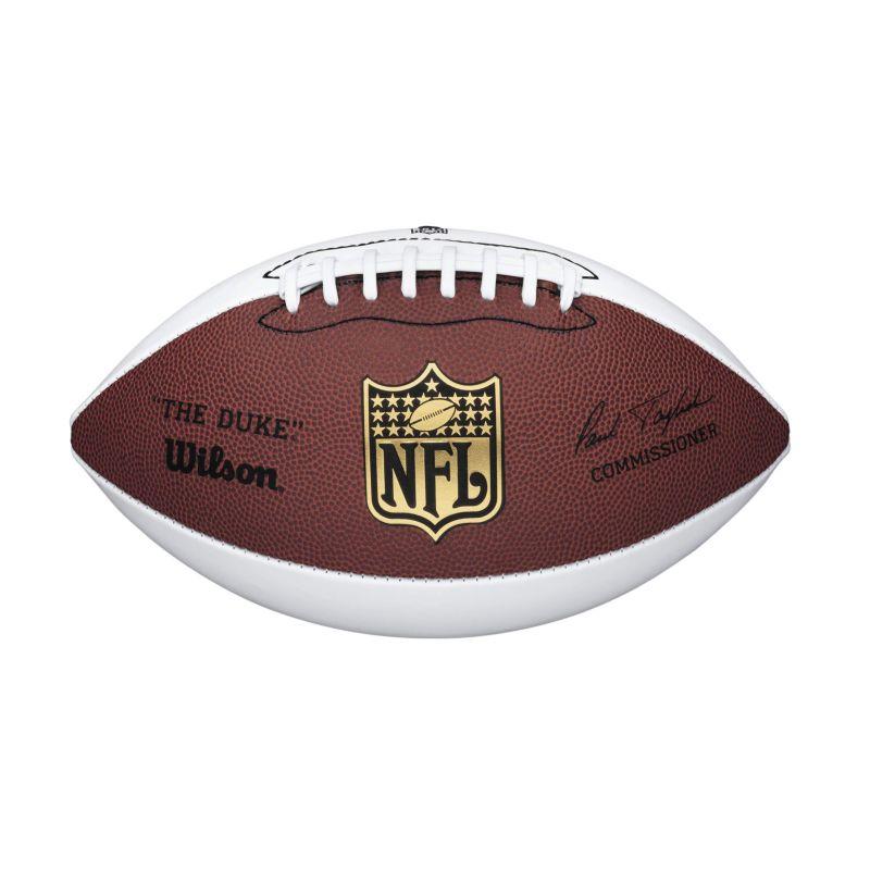 wilson nfl official size autograph football dealtrend