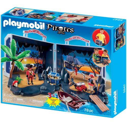 Playmobil Pirate Treasure Chest Playset - 5947
