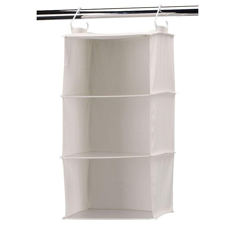 Household Essentials 3-Shelf Hanging Sweater Organizer Bag