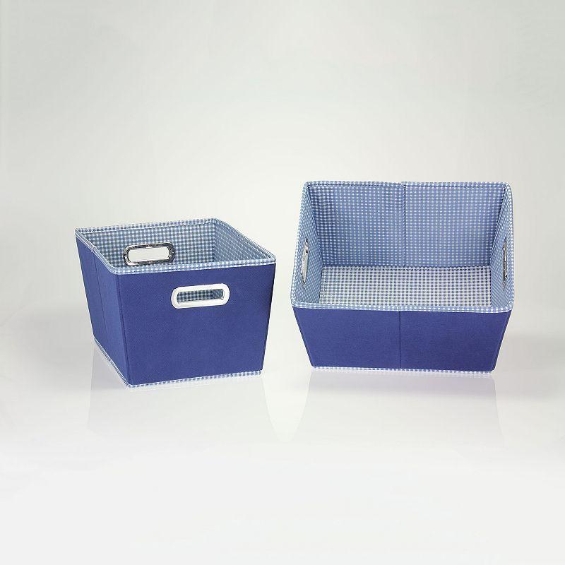 Household Essentials 2-pk. Color Storage Bins
