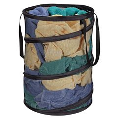 Household Essentials Pop-Up Laundry Hamper by