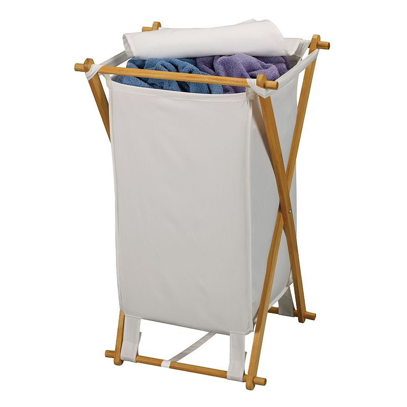 Household Essentials X-Frame Laundry Hamper