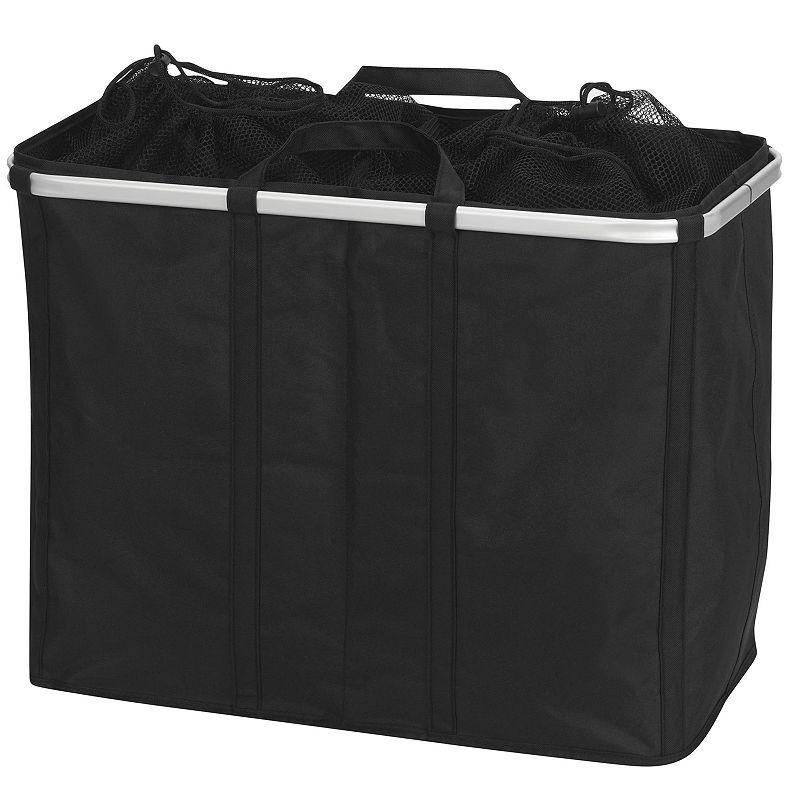 Household Essentials Square Krush Double Laundry Hamper
