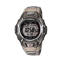 Casio Men's G-Shock Tough Solar Atomic Stainless Steel Digital Chronograph Watch MTGM900DA-8
