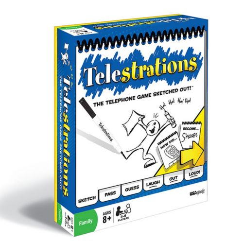Telestrations Game Family Pack by USAopoly