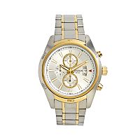 Citizen Two Tone Stainless Steel Chronograph Watch - AN3544-58A - Men