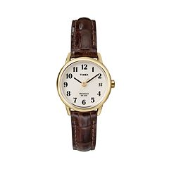 Timex Women's Leather Watch T20071KZ