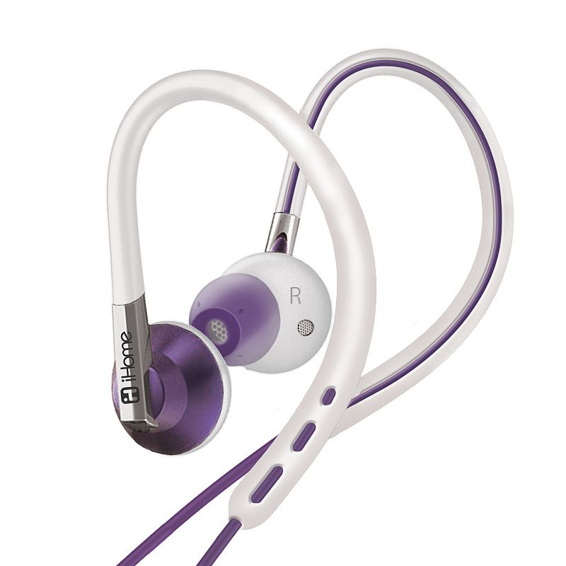 iHome 2-in-1 Sport Earhook Headphones