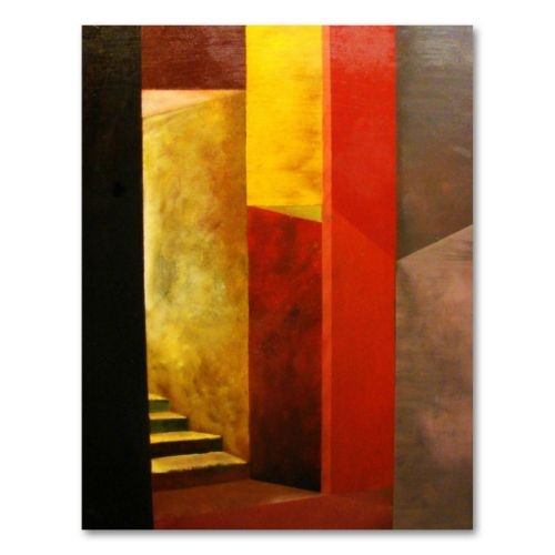 Mystery Stairway Canvas Wall Art by Michelle Calkins