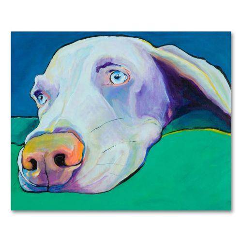 Fritz Canvas Wall Art by Pat Saunders-White