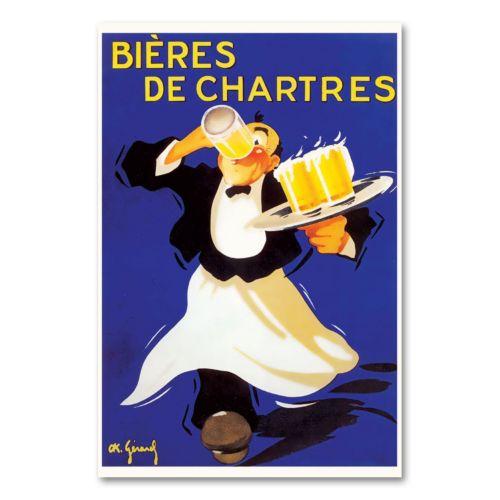 Bieres de Chartres Canvas Wall Art