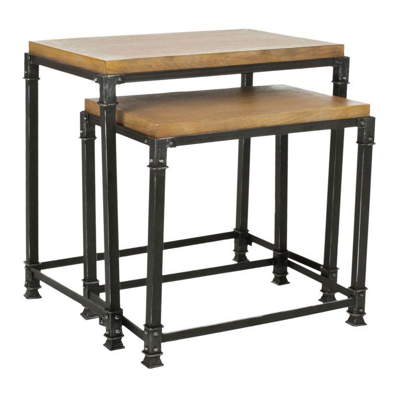 Metal Legs Wood Top Table Kohl S