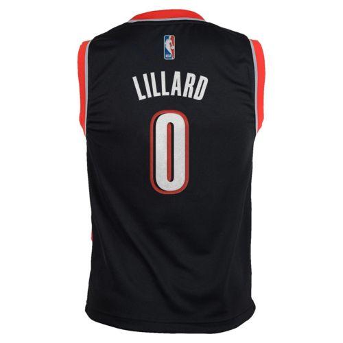 adidas Portland Trail Blazers Damian Lillard NBA Jersey - Boys 8-20