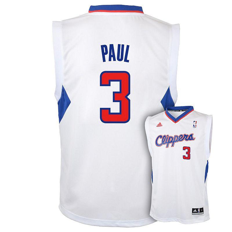 Boys 8-20 adidas Los Angeles Clippers Chris Paul NBA Jersey