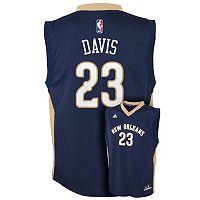 Boys 8-20 adidas New Orleans Pelicans Anthony Davis NBA Replica Jersey