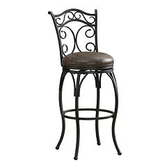 American Heritage Billiards Solana Swivel Bar Stool by