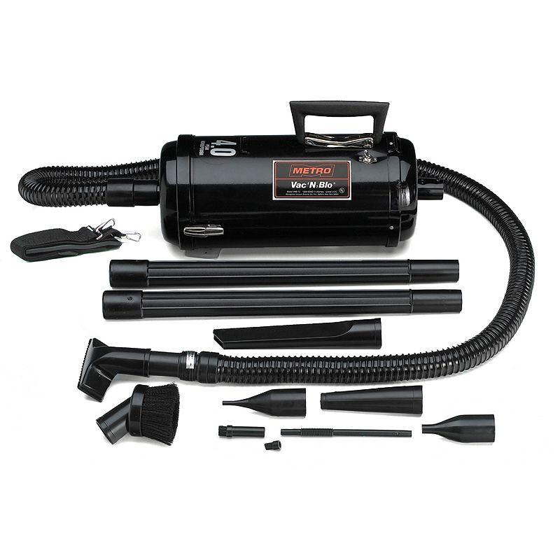 metrovac vac 39 n 39 blo compact car vacuum blower black. Black Bedroom Furniture Sets. Home Design Ideas