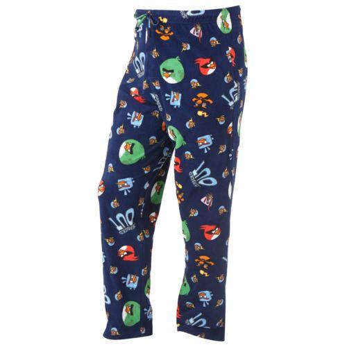 Angry Birds Microfleece Lounge Pants - Big and Tall