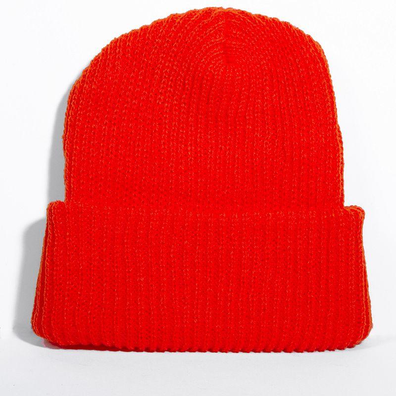 DPC Outdoor Design Performance Blaze Orange Knit Hat - Men