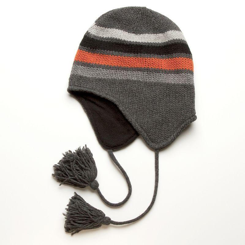 DPC Outdoor Design Striped Wool Blend Peruvian Hat - Men