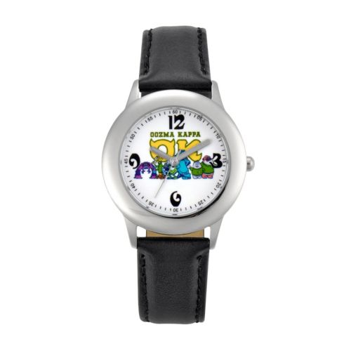 Disney Monsters University Oozma Kappa Stainless Steel Leather Watch - Juniors