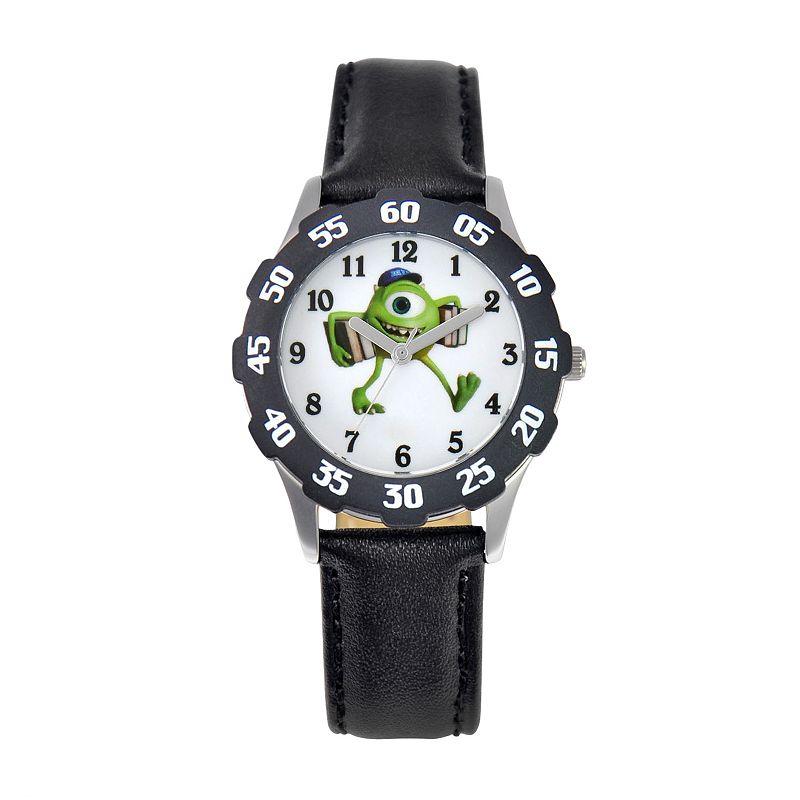 Disney / Pixar Monsters University Mike Juniors' Leather Watch