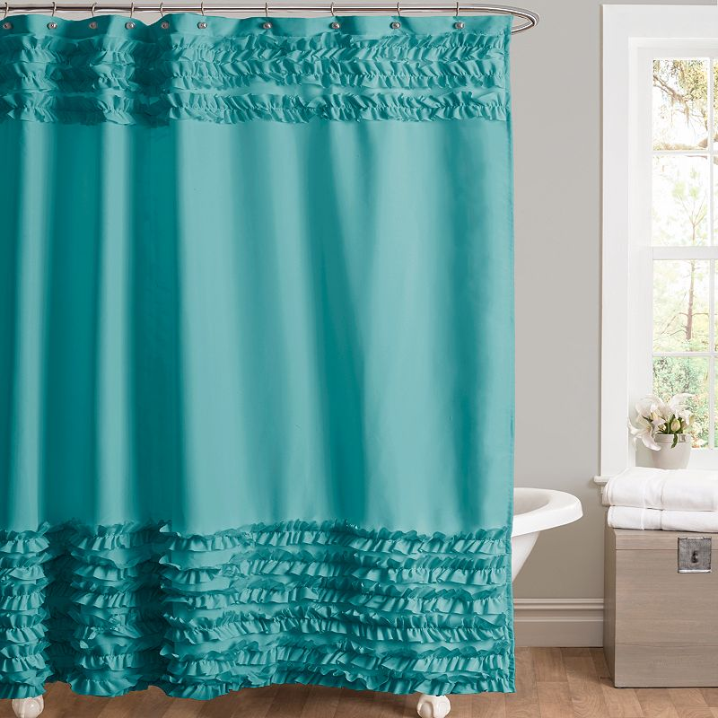 Skye fabric shower curtain - Bathroom shower curtains and accessories ...