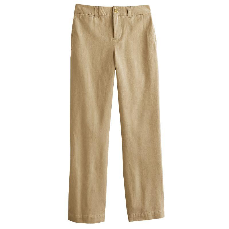 Boys 8-20 Chaps Regular-Fit Straight-Leg Chino Pants