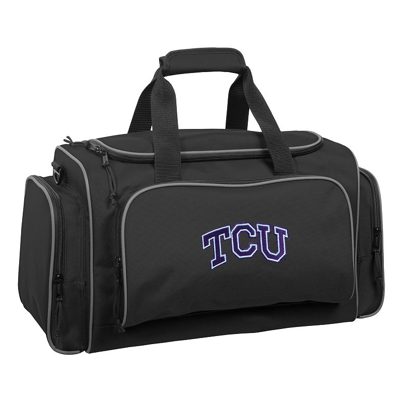 WallyBags 21-Inch TCU Horned Frogs Duffel Bag